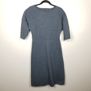 Tara Jarmon gray sheath dress, size 40
